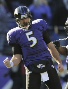 #5 Joe Flacco is the main reason why the Ravens will win their second meeting vs their rival Pittsburgh Steelers. Photo: ravens.com