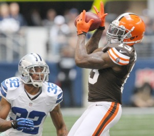 WR Josh Gordon, the youngest player on the Browns (turned 21 last April), leads the team with 646 receiving yards and 5 TDs. Photo:John Kuntz, The Plain Deale