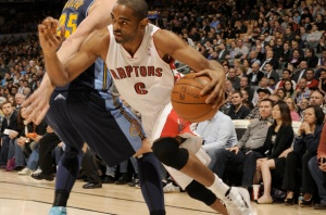 #6 Alan Anderson averaging 19.3 points per game over his last three is someone to watch over the next several games. Photo: raptors.com