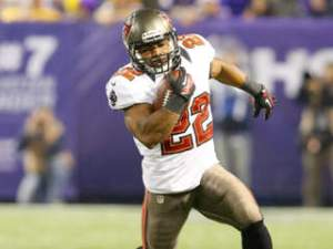 #22 RB Doug Martin is well on his way to 300 carries this season. Photo: zimbio.com