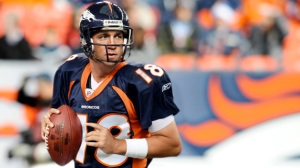 We don't think that #18 Peyton Manning will be adversly affected by the cold weather. Photo: blacksportsonline.com