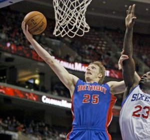 #25 Out of Duke, Kyle Singler was just moved to small forward and is doing well enough to consider picking up. AP File Photo