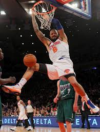 #^ Tyson Chandler needs to be more of a defensive threat and be able to score down low for the Knicks to improve. (Photo: Brad Penner, USA TODAY Sports)