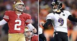 #9 K Justin Tucker has had a stellar season while #2 David Akers has been struggling. Photo: espn.com