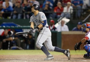 C Jesus Montero, once a major Yankee prospect should see a surge in power with the drawn-in fences at Safeco Field. Photo: Ronald Martinez/Getty Images North America