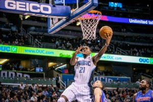 #21 Maurice Harkless has averaged almost 4 steals a game over his last five! Photo: orlandosentinel.com