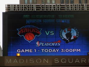 The Madison Square Garden marquis. Photo: Fantasy Furnace
