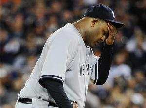 #52  CC Sabathia has had hard luck on all of his Opening Day starts. Photo: dailynews.com