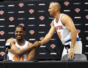 The signings of Jason Kidd & Kurt Thomas along with Marcus Camby & Rasheed Wallace, turned the Knicks into the NBA's oldest team last season. Photo: ROBERT SABO/NEW YORK DAILY NEWS
