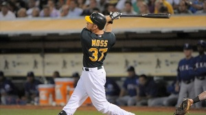 #37 Brandon Moss notched his 14th homer this weekend and should end the season with 25-30. Kyle Terada-USA TODAY Sports: