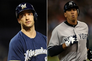 Ryan Braun and Alex Rodriguez are two of those implicated in the Biogenesis scandal who are facing possible suspension. Photo: GettyImages