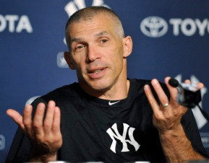 Yankees manager Joe Girardi is too passive and has not been able to motivate his under-(AP Photo/Bill Kostroun hitters.