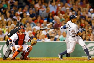 ARod's fifth inning solo home run was some vindication for the embattled 3rd Photograph by: Jared Wickerham , Getty Images. Photo: