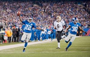 #22 David Wilson will gets an opportunity to have a breakout season with Ahmad Bradshaw no longer in RON ANTONELLI/NEW YORK DAILY NEWS picture. Photo: