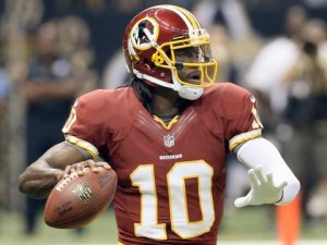 #10 QB RGIII will be back but might alter his game somewhat to stay away from further injury, however he still has a lethal, accurate arm. Look for him to  be sliding following runs this season
