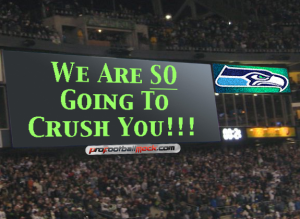 The SEattle SEahawks crowd will be the 12th man in their matchup vs the 49ers this weekend.