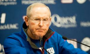 Head coach Tom Coughlin now in his 10th season with the Giants, might be losing his team to bad case of ANDREW THEODORAKIS/NEW YORK DAILY NEWS. Photo: