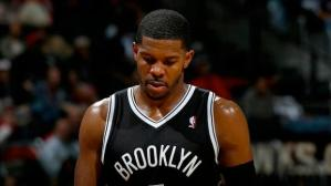 SG Joe Johnson who suffered through Plantar Fasciitis in last year's layoffs, will see a significant drop in his minutes with a deep Nets bench on tap for this season. Photo: Getty Images