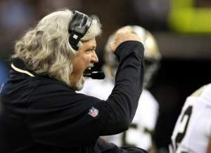 Saints Defensive Coordinator Rob Ryan has brought a passion to the league's 6th ranked defense. Chuck Cook/USA TODAY Sports