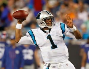 There hasn't been a hotter team nor better QB than Cam Newton over the past month and a half and Sunday the Panthers look to make it 7 in a row. Photo: Associated Press