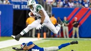 The return of #81 Kellen Winslow & Santonio Holmes will give the Jets the edge vs the Bills this Sunday. Photo Associated Press