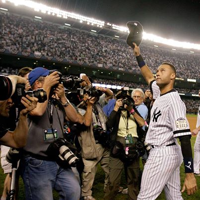 Derek Jeter, the last of the Core Four will tip his hat to the Yankee Stadium crowd