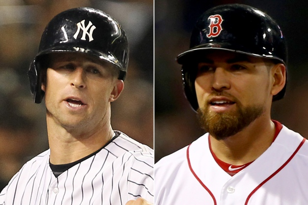 "Yankees G.M. Brian Cashman admitted back in December that these two players ""are very similar"" but just 2 1/2 months later signed Brett Gardner to a four-year extension for about 70% less per year than the salary of Jacoby Ellsbury. Photo: N.Y. Post Charles Wenzelberg/Getty Images"