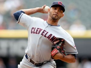 #31 SP Danny Salazar could be a top pitcher in the M.L.'s if he picks up where he left off  Jerry Lai, USA TODAY Sports) season. Photo: last season.