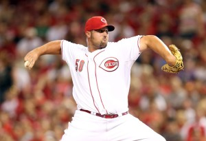 #50 reliever and now Reds closer Jonathan Broxton takes over the role at least for the next 6-8 weeks. Source: Andy Lyons/Getty Images North America