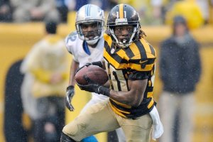 #11 WR Markus Wheaton, who will help fill the void for Sanders and Cotchery (both no longer on the Steelers),  could emerge as a top 20 WR in the league this year. PHOTO: AP