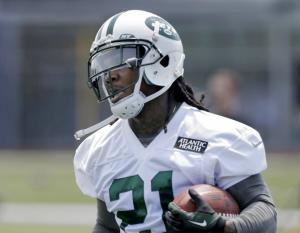 #21 Chris Johnson's fantasy potential takes a hit this season in a very crowded & talented backfield. Photo: N.Y. Daily News