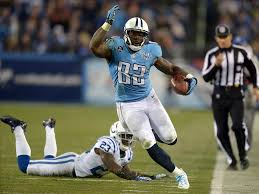 #82, TE Delanie Walker's size and great hands should allow him to continue to be a consistent tight end addition to your roster when the bigger sexy names are off the board, says the Mark J. Rebilas-USA . Photo: