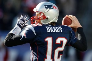 #12 Tom Brady & the Pats, after winning their last 11 road games straight up, will garner their 1st win in Week #2, says the Furnace. Photo: Charles Krupa