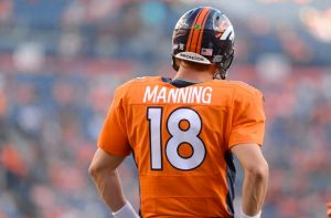 #18 Peyton Manning...are his best years behind him following one of his worst career Decembers last season? The Furnace thinks fantasy owners should not overpay for this NFL super-star. Photo: USA TODAY